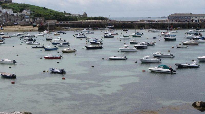Moored boats. Credit Swansea University