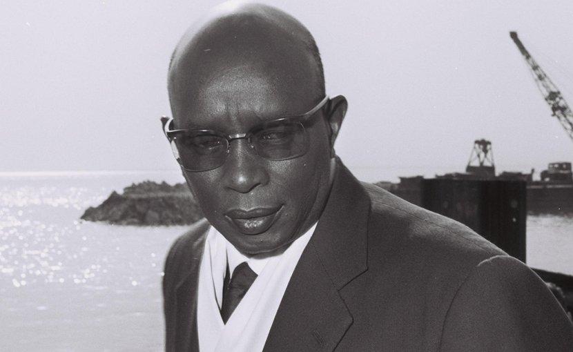 Burundi'a King Mwambusta IV in 1962. Photo by Fritz Cohen - Israel National Photo Collection, Wikipedia Commons.
