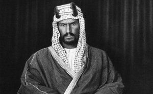 Saudi Arabia's Abdulaziz Ibn Saud. Photo by William Henry Irvine Shakespear, Wikipedia Commons.