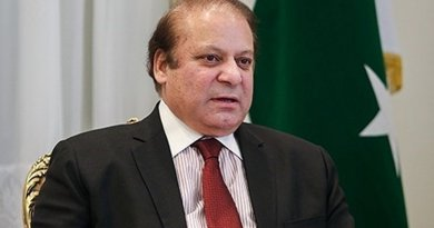 Pakistan's Prime Minister Nawaz Sharif. Photo by Hamed Malekpour, Wikimedia Commons.
