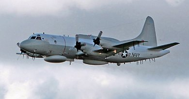 File photo of a US EP-3 ARIES. Photo Credit: US Navy, Wikipedia Commons.