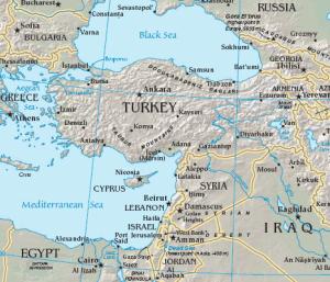 Figure 7. Map of Turkish Straits  Source: U.S. Government