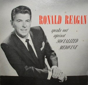 Ronald Reagan speaks out against Socialized Medicine.