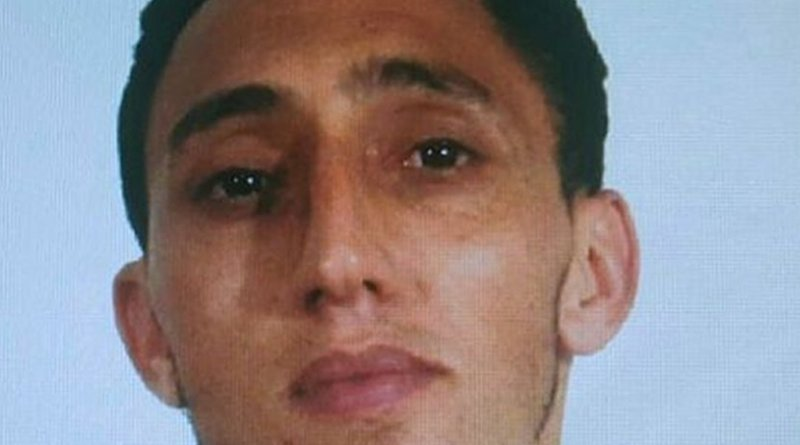 Driss Oukabir in a photo handout provided by the Spanish National Police.