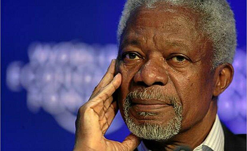 Kofi Annan. Photo Credit: World Economic Forum, Wikipedia Commons.