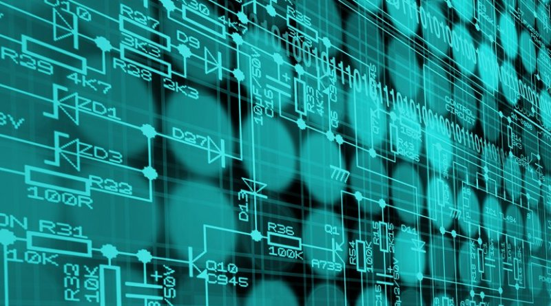 technology data software electronics programming
