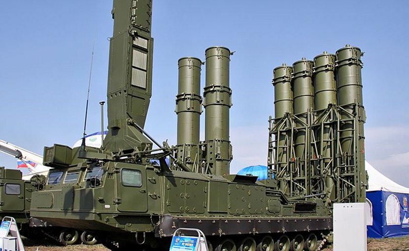 "File photo of Russia's S-300VM ""Antey-2500"". Photo by Vitaly V. Kuzmin, Wikipedia Commons."