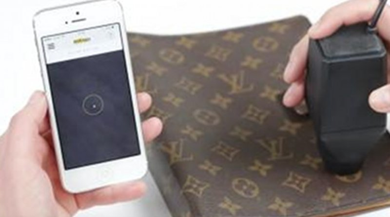 A team of researchers has developed a new mechanism that uses machine-learning algorithms to distinguish between genuine and counterfeit versions of the same product. Credit Image courtesy of Entrupy, Inc.