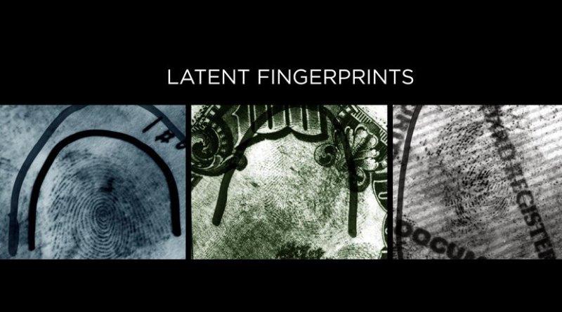 Fingerprints left at a crime scene -- so-called latent prints -- are often partial, distorted and smudged. Credit Credit: Chugh et al., Hancek/NIST