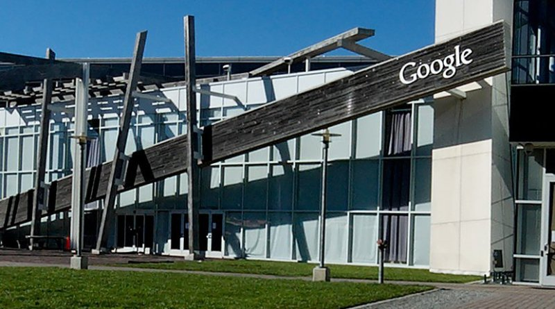 Google Campus. Photo by Sebastian Bergmann, Wikipedia Commons.