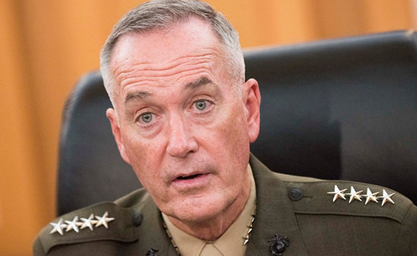 Marine Corps Gen. Joseph F. Dunford Jr., chairman of the Joint Chiefs of Staff. DOD photo by U.S. Navy Petty Officer 1st Class Dominique A. Pineiro
