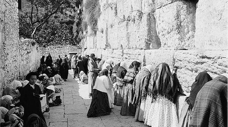 The sacredness of the Western Wall is a relatively recent phenomenon and an outgrowth of Sultan Suleiman I's (r.1520- 66) rebuilding activities in Jerusalem. The site was originally just a narrow alley that restricted its usage by the city's Jewish worshipers. Photo Credit: Wikipedia Commons.