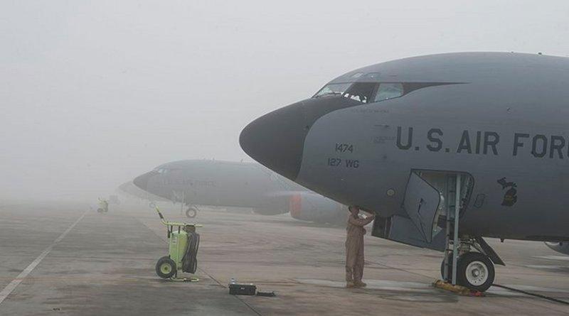 Al Udeid Air Base, Qatar. U.S. Air Force photo by Staff Sgt. Matthew B. Fredericks) Unit: U.S. Air Forces Central Command Public Affairs.