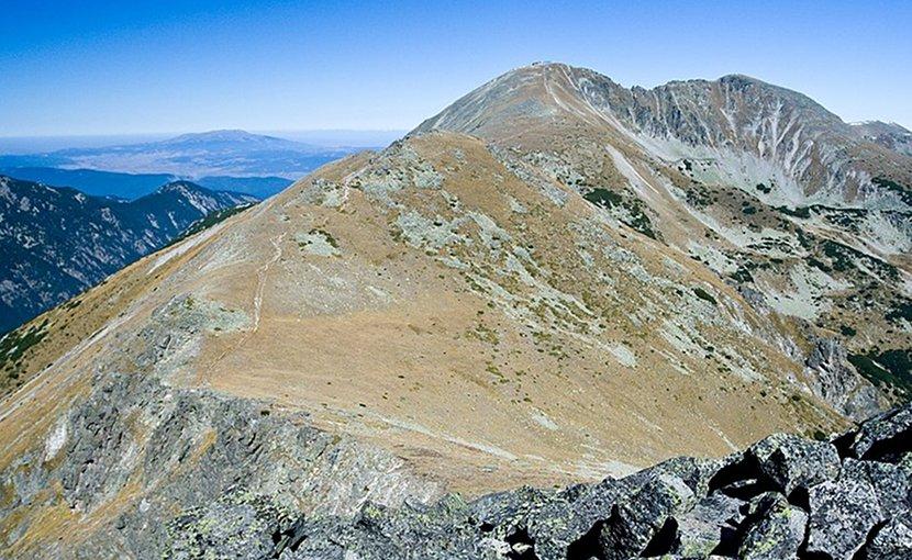 Musala summit in Rila mountain, Bulgaria. Photo by Deyan Vasilev, Wikipedia Commons.