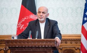 Afgnanistan's Ashraf Ghani. DOD photo by U.S. Air Force Staff Sgt. Jette Carr