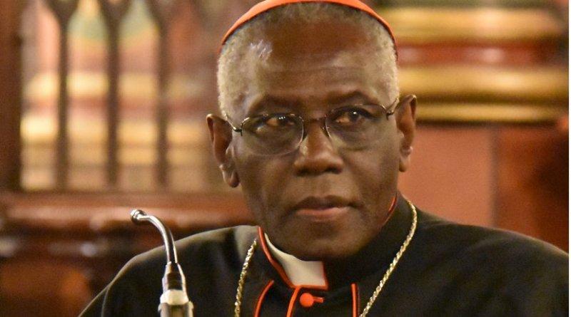 Cardinal Robert Sarah. Photo by François-Régis Salefran, Wikipedia Commons.