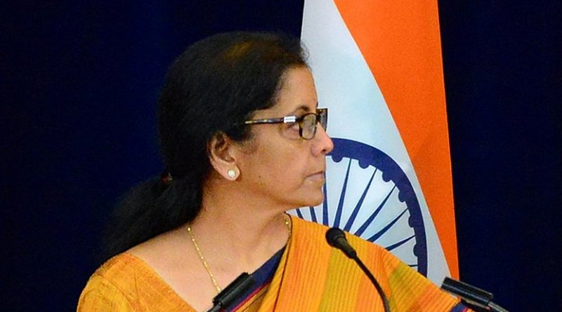 India's Nirmala Sitharaman. Photo Credit: Edited US State Department