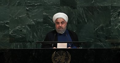 Iran's President Hassan Rouhani. Photo Credit: Iranian Presidency.