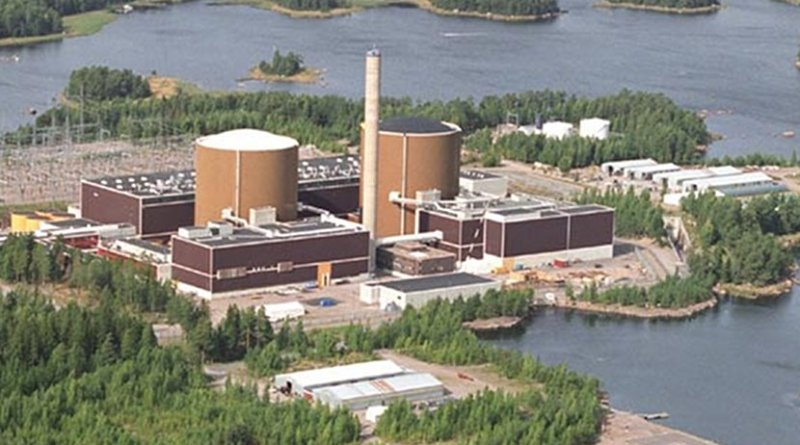 Fortum's Loviisa nuclear power plant from air. Source: Wikipedia Commons.