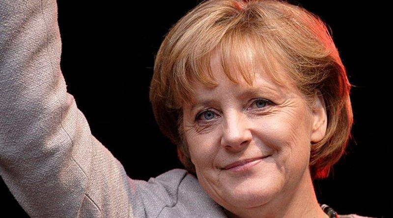 Germany's Angela Merkel. Photo by Aleph, Wikimedia Commons.