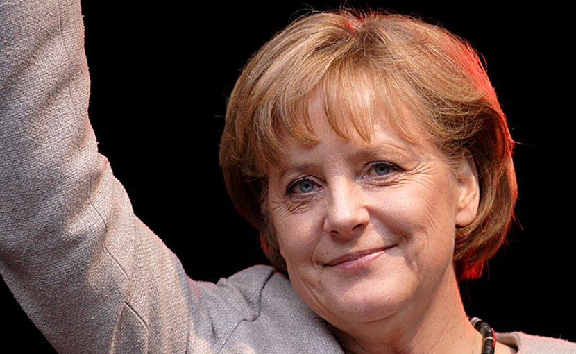 Germany's Angela Merkel. Photo by Aleph, Wikimedia Commons.