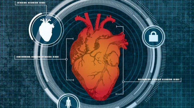 The system uses low-level Doppler radar to measure your heart, and then continually monitors your heart to make sure no one else has stepped in to run your computer. Credit Bob Wilder/University at Buffalo.