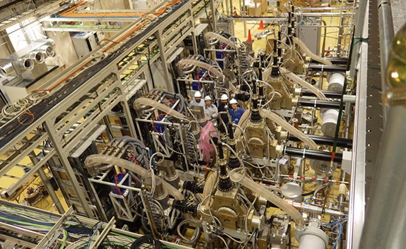 IFMIF-AVEDA Japan particle accelerator. Photo Credit: Indra