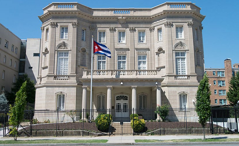 Embassy of the Republic of Cuba in Washington, D.C. Photo by Difference engine, Wikipedia Commons.