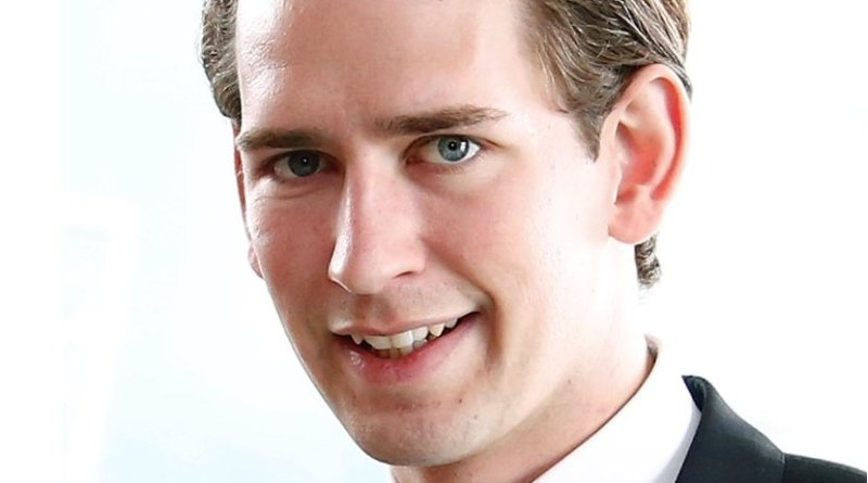 Austria's Sebastian Kurz. Photo by Dragan Tatic, Wikipedia Commons.