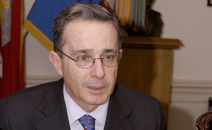 Colombia's Alvaro Uribe. Photo by Helene C. Stikkel, Wikimedia Commons.