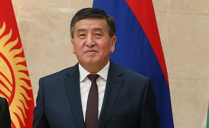 Kyrgyzstan's Sooronbai Jeenbekov. File photo: Government.ru, Wikimedia Commons.