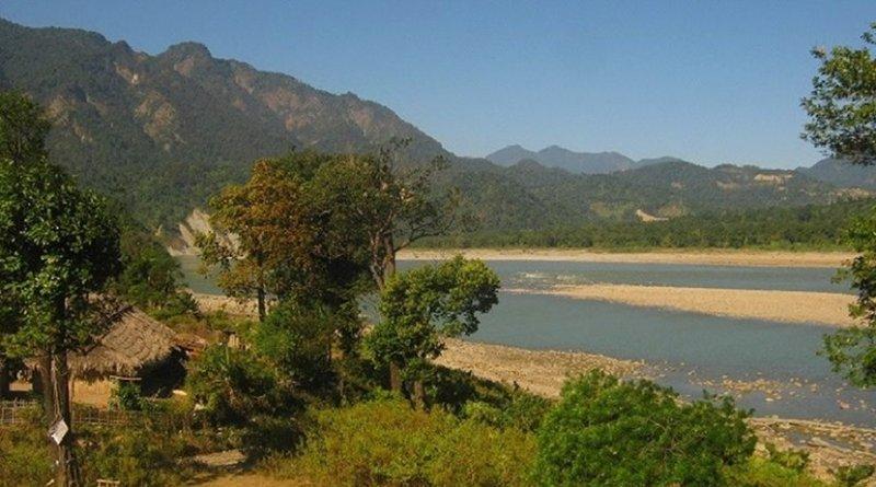 Siang river in Arunachal Pradesh. Photograph: C K Duarah.