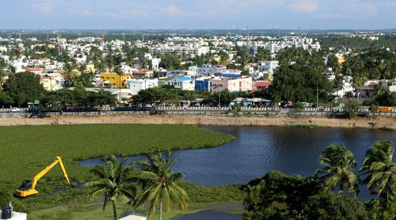 Coimbatore (India) lake corridor