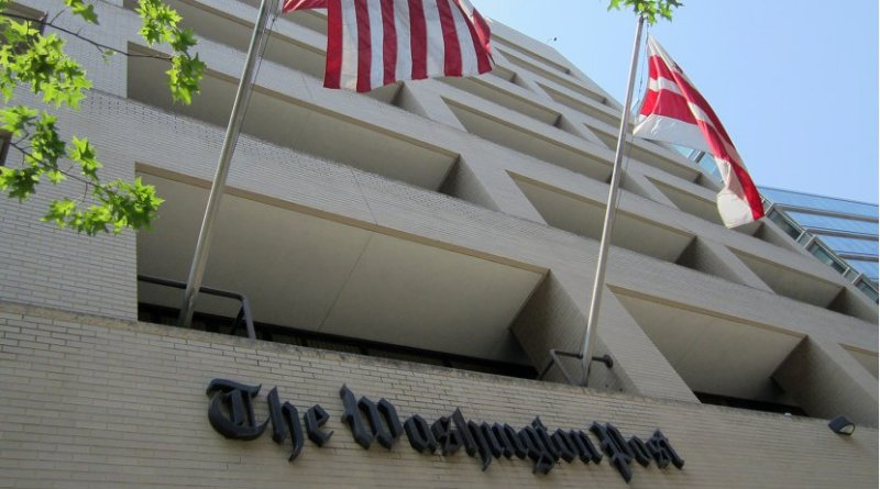 The Washington Post. Photo by Daniel X. O'Neil, Wikimedia Commons.