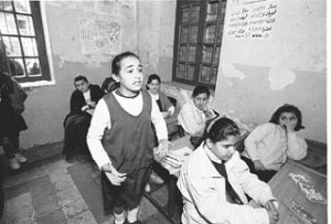 Student at Dijla school Alan Pogue