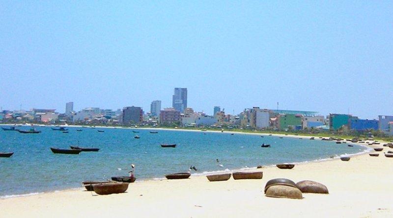 Danang, Vietnam. Photo by Fa2f, Wikimedia Commons.
