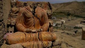 Mes Aynak is the site of ancient ruins that have been compared to Pompeii. Photo from the film 'Saving Mes Aynak'