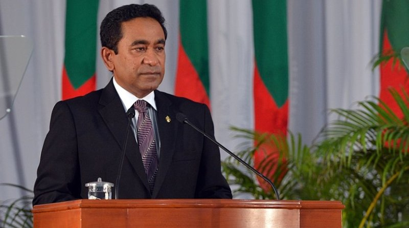 Maldives' Abdulla Yameen. Photo Credit: Maldives Government.