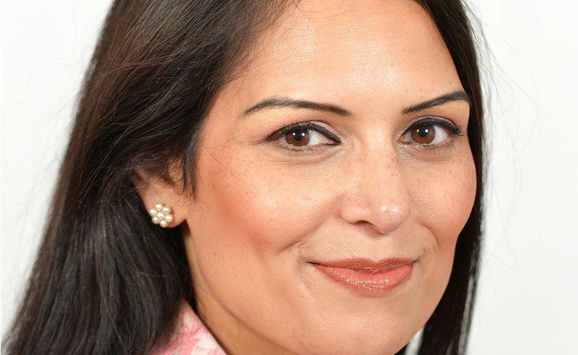 The United Kingdom's Priti Patel. Photo Credit: UK Government, Wikipedia Commons.