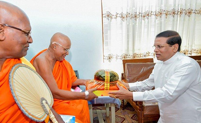 Sri Lanka's President Maithripala Sirisena. Photo Credit: Sri Lanka government.