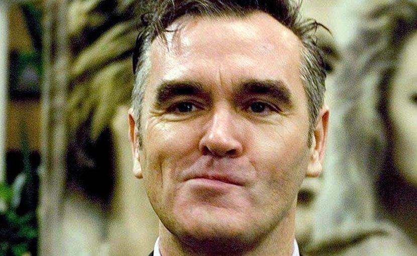 US singer Morrissey. Photo Caligvla, Wikipedia Commons.