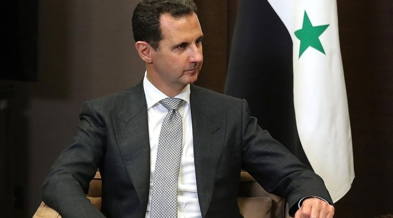President of the Syrian Arab Republic Bashar al-Assad. Photo Credit: Kremlin.ru