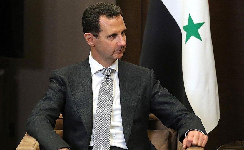 President of the Syrian Arab Republic Bashar al-Assad. Photo Credit: Kremlin.ru