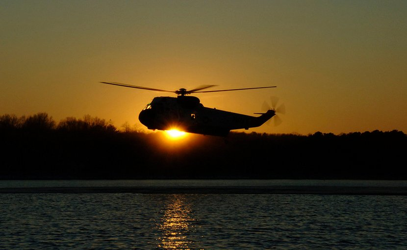 US military helicopter. Source: DoD, Wikimedia Commons.