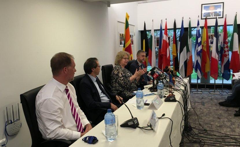 Delegation of European Parliament visits Sri Lanka. Photo Credit: Sri Lanka government.