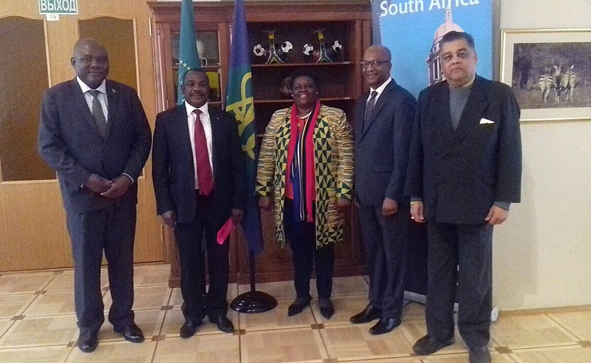 Southern African Development Community (SADC) Embassies