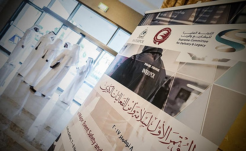 INTERPOL's Project Stadia and Qatar's Supreme Committee for Delivery and Legacy are co-hosting the 1st Major Event Safety and Security Conference (7 and 8 November), in collaboration with Qatar's Ministry of Interior. Photo Credit: INTERPOL.