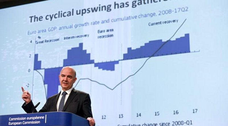 Pierre Moscovici, Member of the EC in charge of Economic and Financial Affairs, Taxation and Customs. Photo Credit: European Commission.