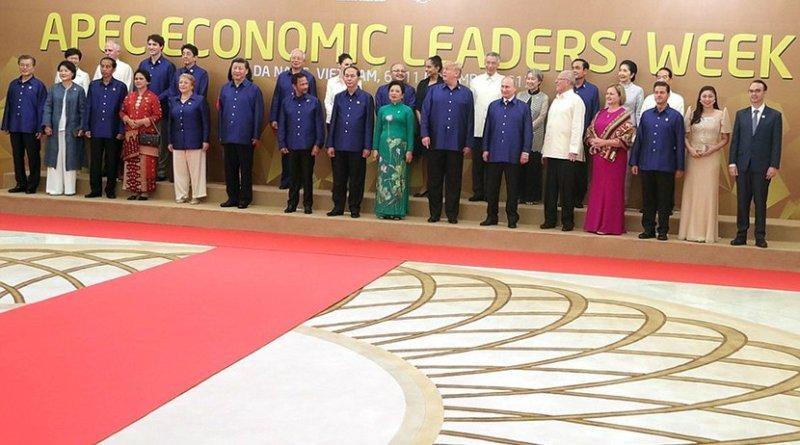 Participants in the APEC Economic Leaders' Meeting in Vietnam. Photo Credit: Kremlin.ru