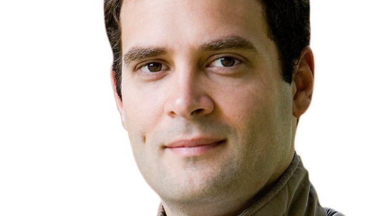 India's Rahul Gandhi. Photo Credit: Indian National Congress, Wikipedia Commons.